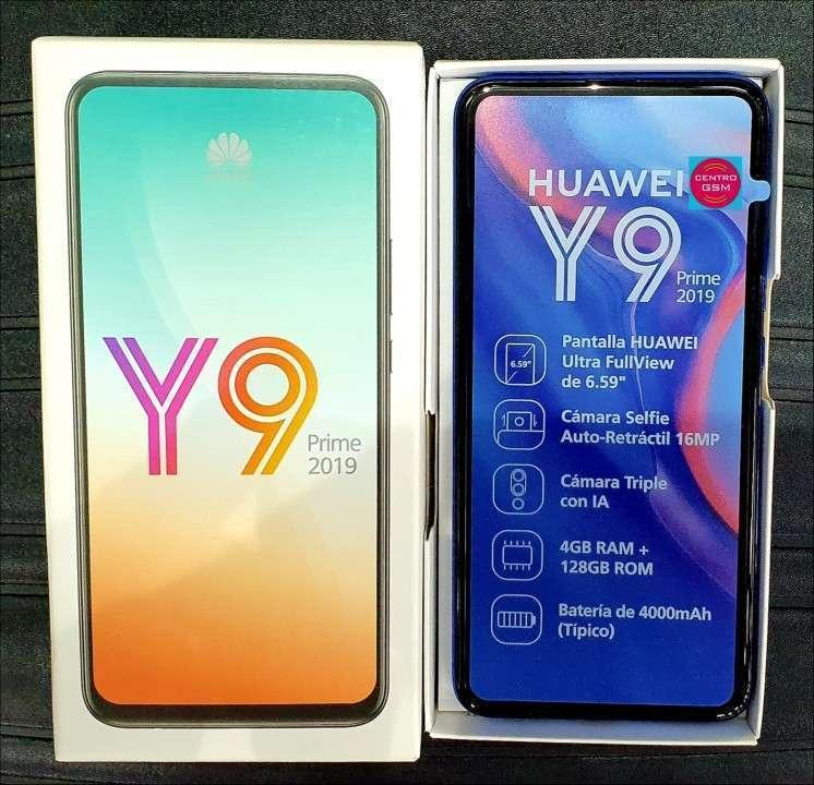 Huawei Y9 Prime 128 gb nuevos - 0
