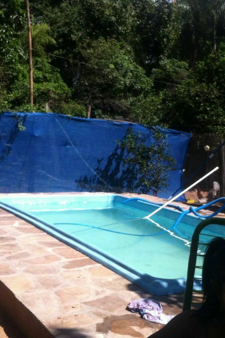Piscina de fibra de vidrio con motor y aspiradora daisy - Aspiradora para piscina ...