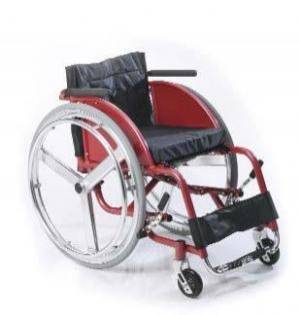 Silla de ruedas deportiva