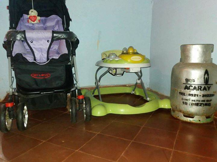 Carrito andador y una garrafa manu ccp benitez - Carrito andador bebe ...