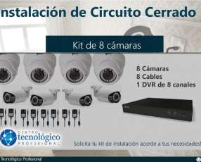 Instalación de CCTV Siera