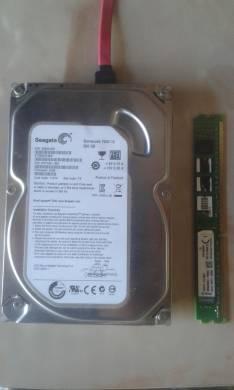 Disco duro memoria ram ddr3