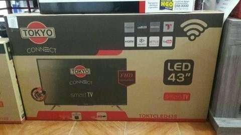 TV LED Smart full HD Tokyo 43 pulgadas - 0