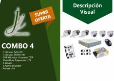 Kit 4 de CCTV Hikvision