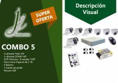 Kit 5 de CCTV Hikvision