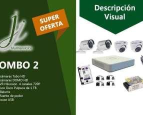 Kit 2 de CCTV Hikvision