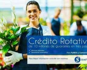 Crédito Rotativo para Micro Empresas