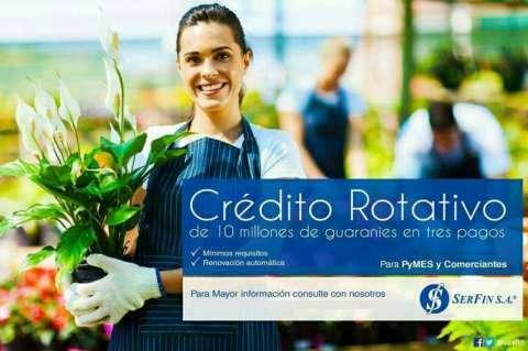 Crédito Rotativo para Micro Empresas - 0