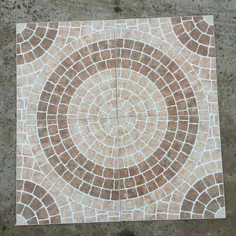 Puerta con marco ejecutiva kjm for Mosaico para piso