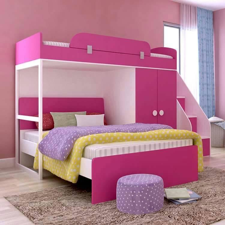 Cama de ni a de 2 pisos enzzo - Modelos de camas nido para ninos ...