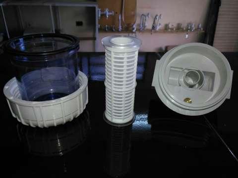 Filtro de agua para partículas