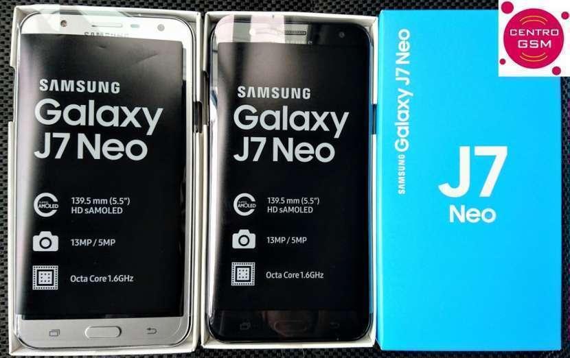 Samsung Galaxy J7 Neo nuevos en caja - 0