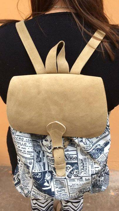 02acfb3fb Carteras y mochilas de cuero - Marlene Diaz - ID 338389
