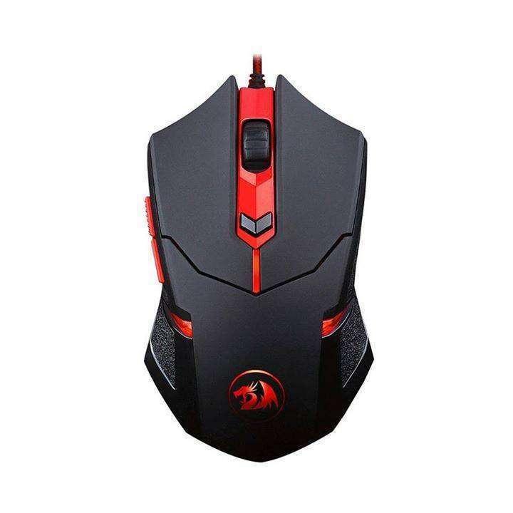 Mouse Gamer Redragon M601 con leds rojos 6 botones - 1