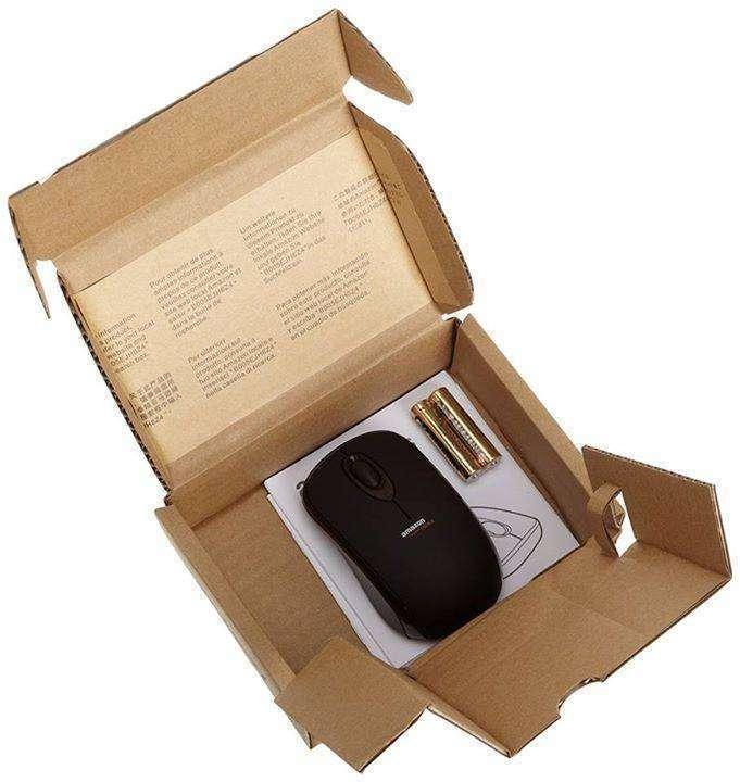 Mouse Inalambrico Amazon Basics con receptor nano - 3