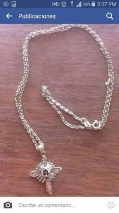 Cadena de plata bañada en oro