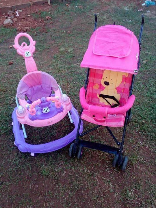 Andador y carrito de paseo crislu - Carrito andador bebe ...
