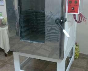 Horno turbo convector eléctrico en acero