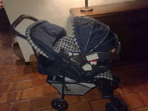 Carrito con baby sit Graco