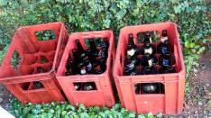 Envases de Cerveza 3/4, Litro y caja plástica de litro