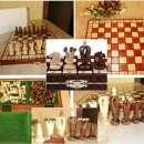 Juego de ajedrez artesanal - 0