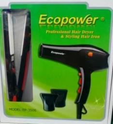 Secador y planchita Ecopower