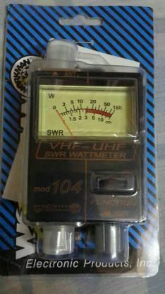 Medidor de potencia y SWR