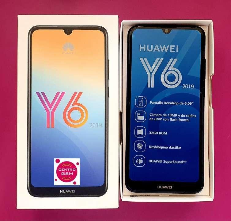 Huawei Y6 2019 de 32 gb nuevos en caja - 0