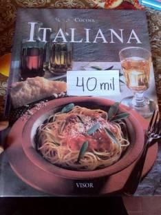 Libro de cocina italiana