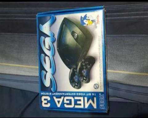 Consola Sega Mega 3