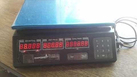 Balanza Digital hasta 30 kg