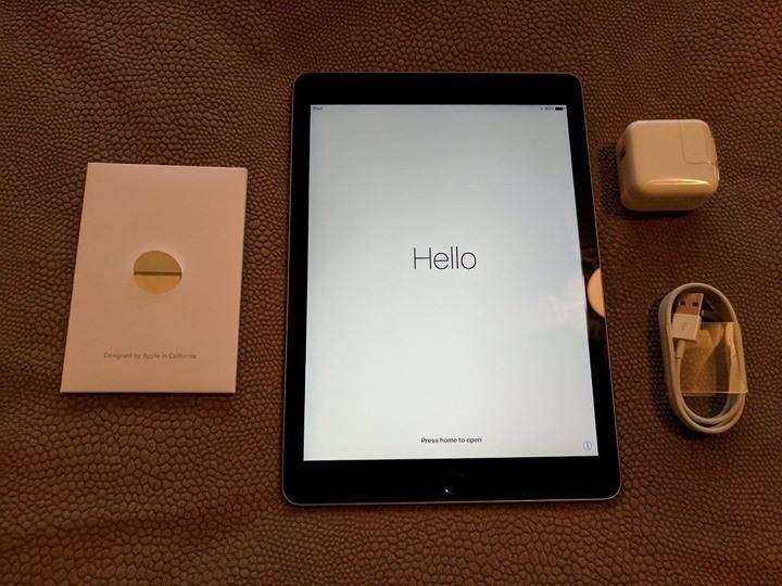 iPad Air 2 128GB en caja, con 2 forro inteligente de cuero. - 6