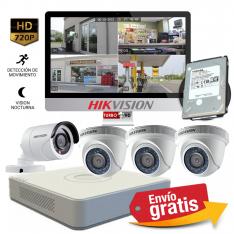 CCTV Instalcionde Kit Casa Segura. Camaras HD