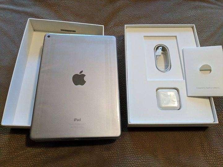 iPad Air 2 128GB en caja, con 2 forro inteligente de cuero. - 5