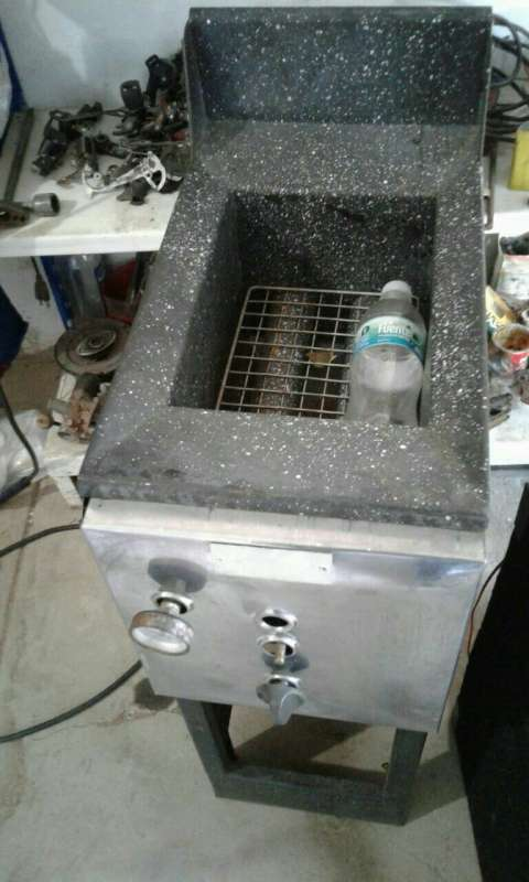 Friitadora a gas