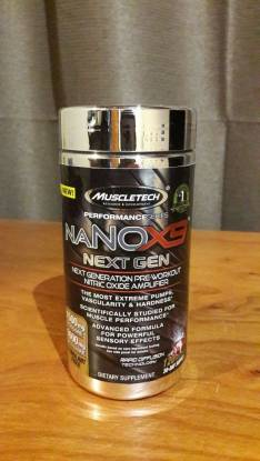 Muscletech Nano X9 120 tabletas