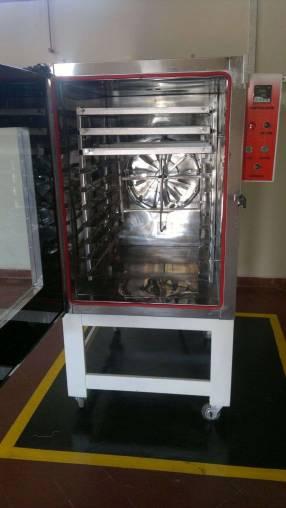 Horno para 10 bandejas refinadoras amsasoras estufas carros