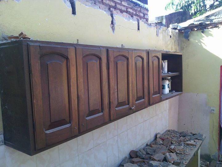 Mueble De Cocina De 5 Puertas De Madera Masiza Diego