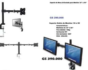 Soporte de monitor para escritorio o mesa