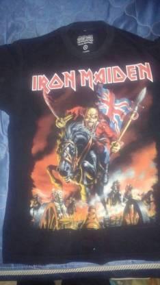 Remera de la gira 2013 de Iron Maiden