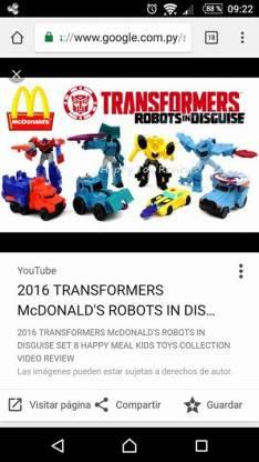 Transformers Mc 2016 Mario Mc 2017 y Spinner