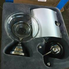 Kit de accesorios de metal cromado para baño