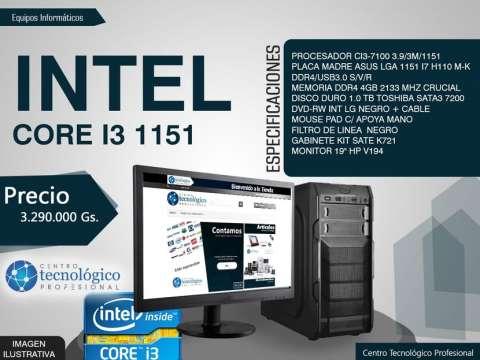 Pc Core I3 1151