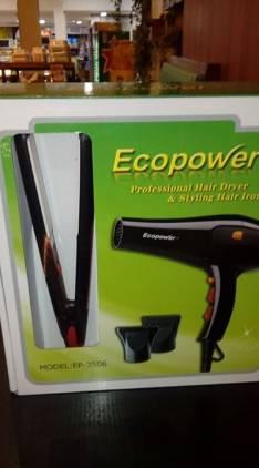 Secadora y planchita Ecopower