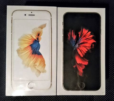 Iphone 6s de 64 gb libres en caja sellada