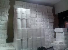 Fardos de papel higiénico