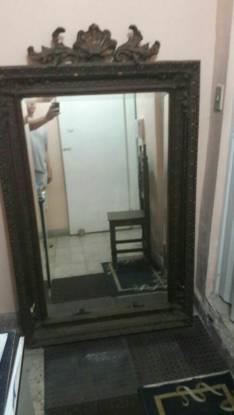 Espejo alemán antiguo de más de 100 años