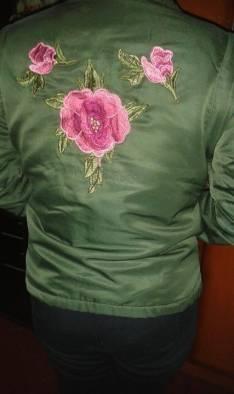 Campera verde musgo