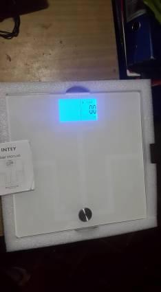 Báscula medidor de % grasa IMC y huesos hasta 180 kg