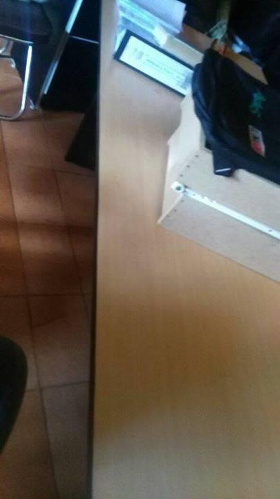 Escritorio de oficina jorge cabrera for Muebles de oficina quilmes andres baranda